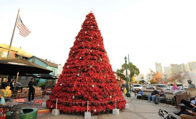 Little Christmas Italy.19th Annual Little Italy Tree Lighting And Christmas Village