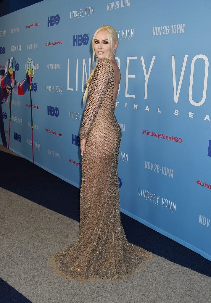 "Los Angeles Premiere Of ""Lindsey Vonn: The Final Season"" From HBO"