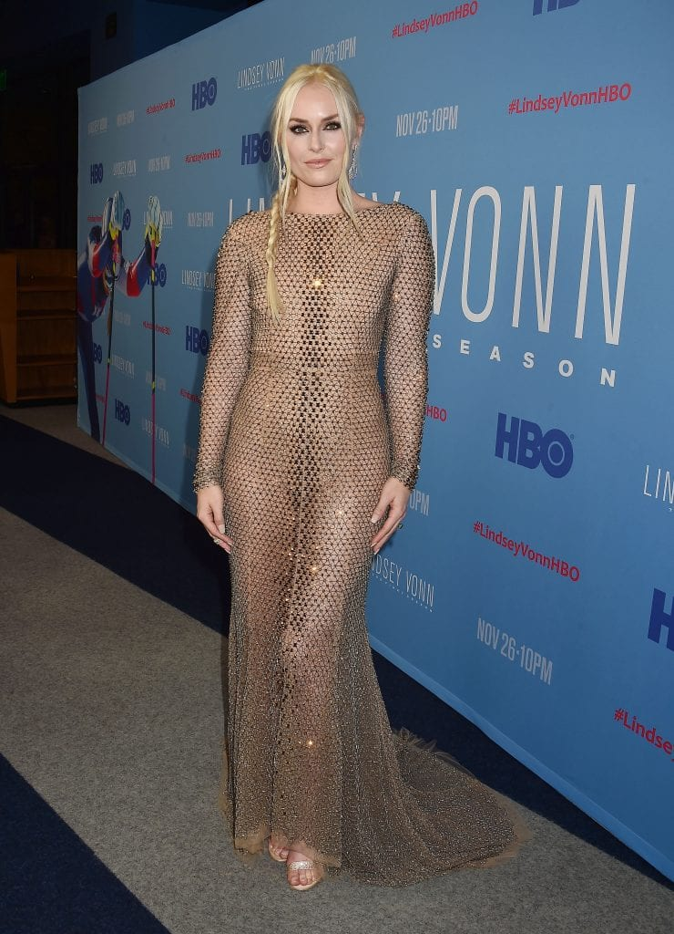 """Los Angeles Premiere Of """"Lindsey Vonn: The Final Season"""" From HBO"""