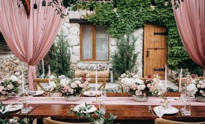 3 Simple Décor Ideas for a Home Wedding