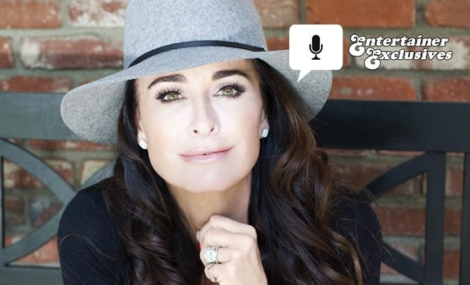 Entertainer Exclusive Kyle Richards Hollywood Upbringing And